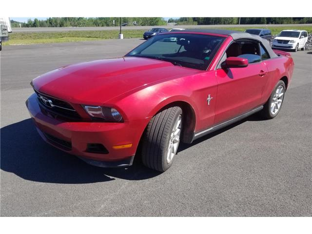 2011 Ford Mustang V6 Convertible (Stk: p21-166) in Dartmouth - Image 1 of 8