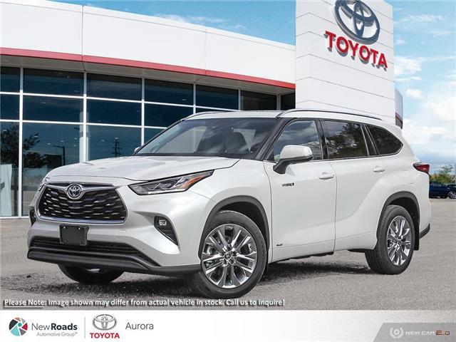 2021 Toyota Highlander Hybrid Limited (Stk: 32665) in Aurora - Image 1 of 23