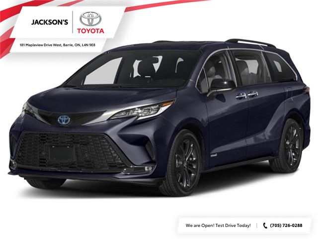 2021 Toyota Sienna XSE 7-Passenger (Stk: 17337) in Barrie - Image 1 of 9