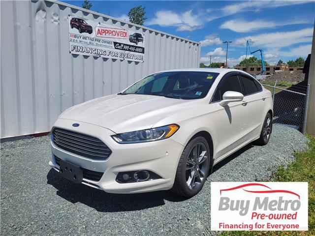 2014 Ford Fusion Titanium AWD (Stk: p21-108a) in Dartmouth - Image 1 of 11