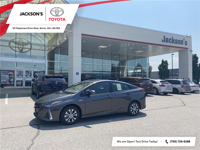 2021 Toyota Prius Prime Upgrade (Stk: 15970) in Barrie - Image 1 of 10