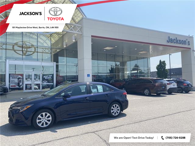 2021 Toyota Corolla LE (Stk: 14478) in Barrie - Image 1 of 11