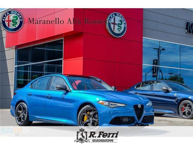 2021 Alfa Romeo Giulia ti (Stk: 708AR) in Woodbridge - Image 1 of 6