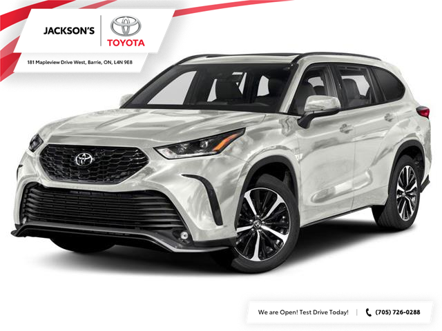 2021 Toyota Highlander XSE (Stk: 15663) in Barrie - Image 1 of 9