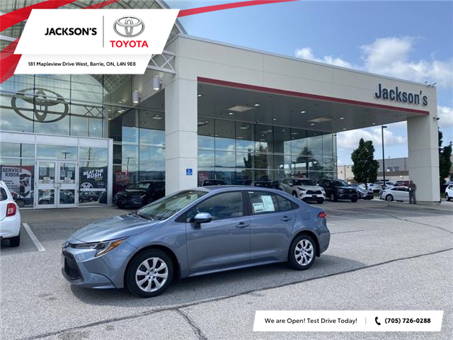 2021 Toyota Corolla LE (Stk: 10122) in Barrie - Image 1 of 10