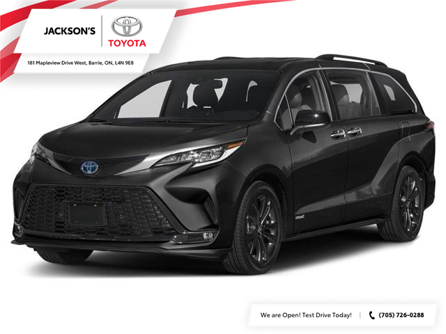 2021 Toyota Sienna XSE 7-Passenger (Stk: 14030A) in Barrie - Image 1 of 9