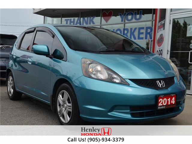 2014 Honda Fit BLUETOOTH | HEATED SEAT (Stk: H19474A) in St. Catharines - Image 1 of 18