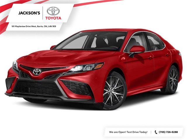 2021 Toyota Camry SE (Stk: 13010) in Barrie - Image 1 of 9