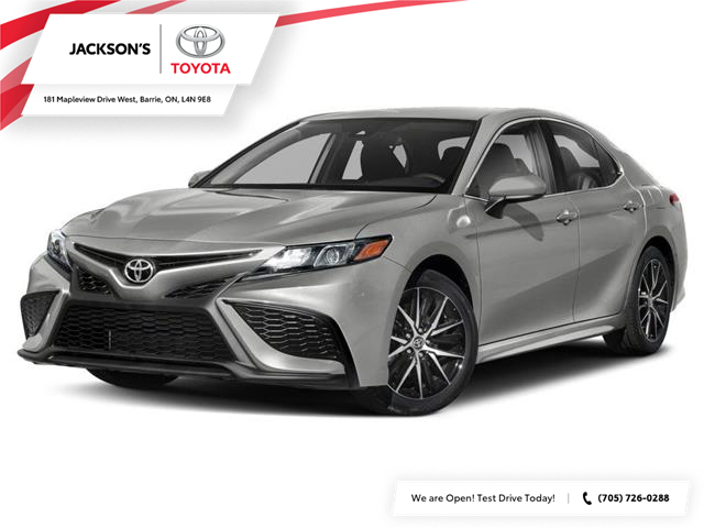 2021 Toyota Camry SE (Stk: 17975) in Barrie - Image 1 of 9