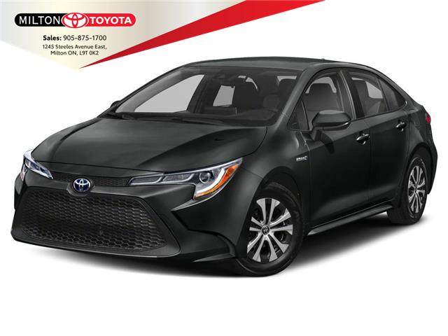 2021 Toyota Corolla Hybrid Base w/Li Battery (Stk: 033862) in Milton - Image 1 of 9