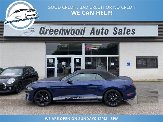 2019 Ford Mustang EcoBoost (Stk: 19-83915) in Greenwood - Image 1 of 17