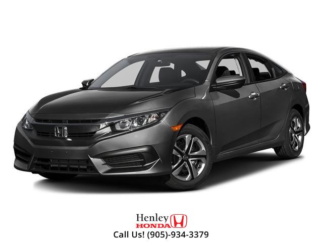 2016 Honda Civic Sedan BLUETOOTH | REAR CAM | HEATED SEATS (Stk: R10276) in St. Catharines - Image 1 of 3