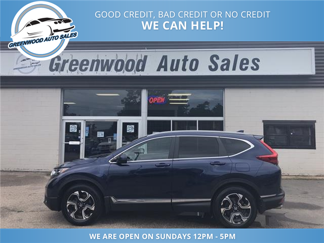 2018 Honda CR-V Touring (Stk: 18-21432) in Greenwood - Image 1 of 18