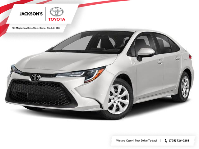 2022 Toyota Corolla LE (Stk: 27590) in Barrie - Image 1 of 9