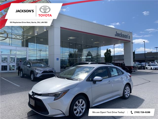 2021 Toyota Corolla LE (Stk: 18753) in Barrie - Image 1 of 12