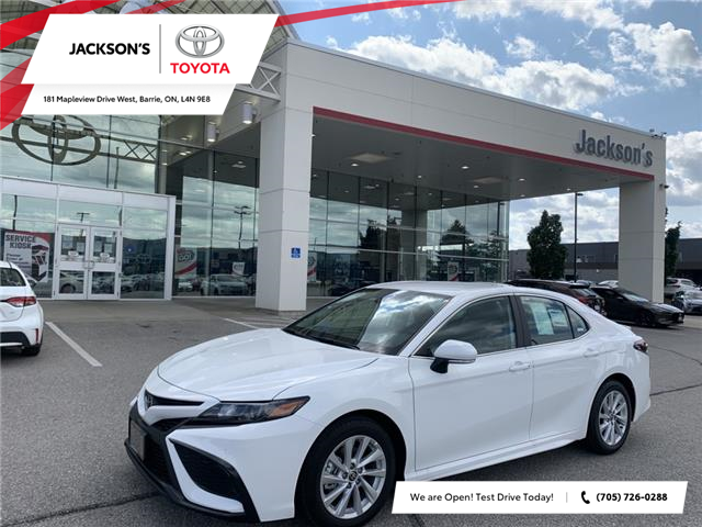 2021 Toyota Camry SE (Stk: 13232) in Barrie - Image 1 of 11