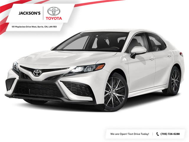 2021 Toyota Camry SE (Stk: 15581) in Barrie - Image 1 of 9