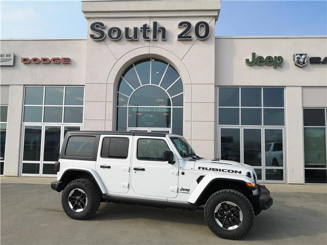 2021 Jeep Wrangler Unlimited Rubicon (Stk: 41099) in Humboldt - Image 1 of 18