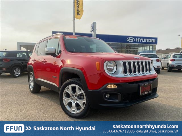 2016 Jeep Renegade Limited (Stk: B8029A) in Saskatoon - Image 1 of 13