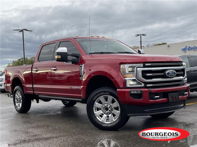 2020 Ford F-350 Platinum (Stk: 22T13A) in Midland - Image 1 of 19