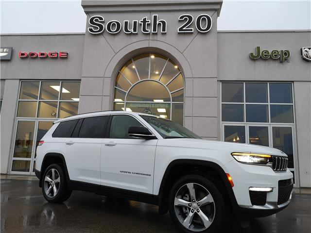 2021 Jeep Grand Cherokee L Limited (Stk: 41082) in Humboldt - Image 1 of 24