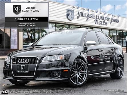 2008 Audi RS 4 4.2L (Stk: 901298) in Toronto, Ajax, Pickering - Image 1 of 2