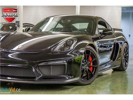 2016 Porsche Cayman GT4 (Stk: WP0AC2) in Oakville - Image 1 of 34