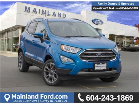 2018 Ford EcoSport Titanium (Stk: 8EC7176) in Vancouver - Image 1 of 29