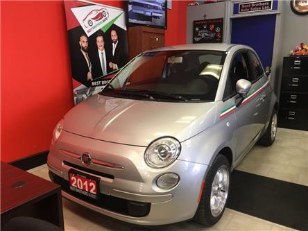 2012 Fiat 500 Pop (Stk: 105439) in Toronto - Image 1 of 14