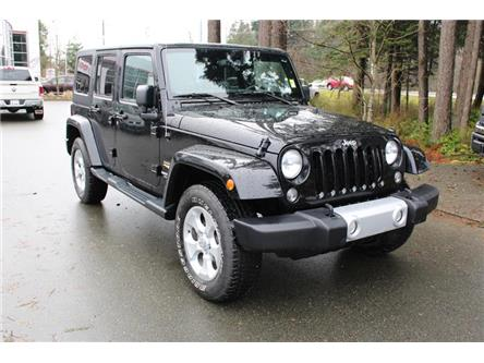 2015 Jeep Wrangler Unlimited Sahara (Stk: P2084) in Courtenay - Image 1 of 27