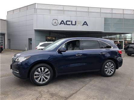 2016 Acura MDX Navigation Package (Stk: 3834) in Toronto, Ajax, Pickering - Image 1 of 24