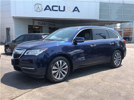 2016 Acura MDX Navigation Package (Stk: 18170A) in Toronto, Ajax, Pickering - Image 1 of 25