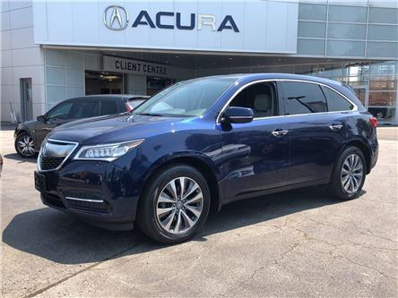 2016 Acura MDX Navigation Package (Stk: 18170A) in Toronto, Ajax, Pickering - Image 2 of 25