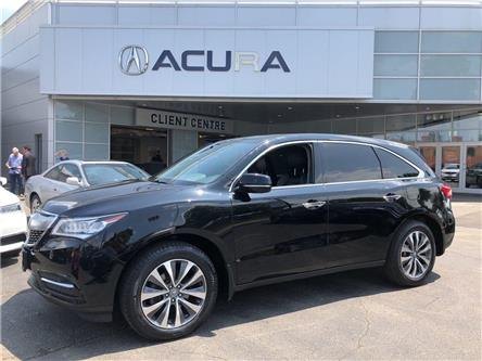 2015 Acura MDX Navigation Package (Stk: 3837) in Toronto, Ajax, Pickering - Image 1 of 20