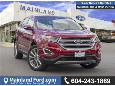 2018 Ford Edge Titanium (Stk: 8ED3979) in Vancouver - Image 1 of 27