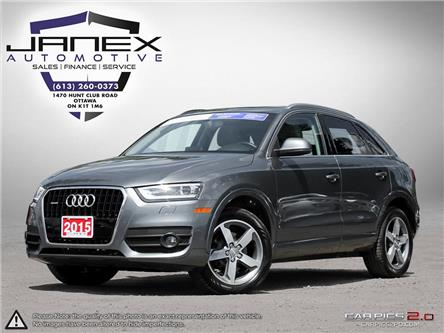 2015 Audi Q3 2.0T Progressiv (Stk: 18456) in Ottawa - Image 1 of 27