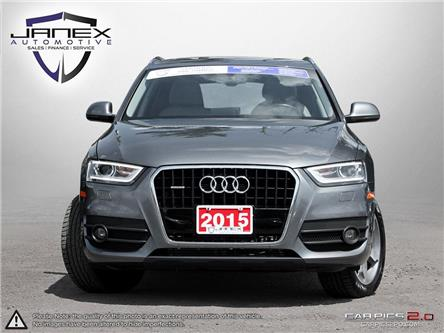 2015 Audi Q3 2.0T Progressiv (Stk: 18456) in Ottawa - Image 2 of 27