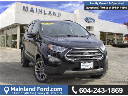 2018 Ford EcoSport Titanium (Stk: 8EC1279) in Vancouver - Image 1 of 22