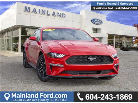 2019 Ford Mustang EcoBoost (Stk: 9MU3129) in Vancouver - Image 1 of 21