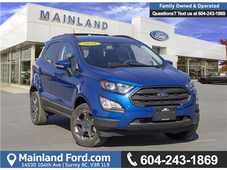 2018 Ford EcoSport SES (Stk: 8EC8863) in Vancouver - Image 1 of 22