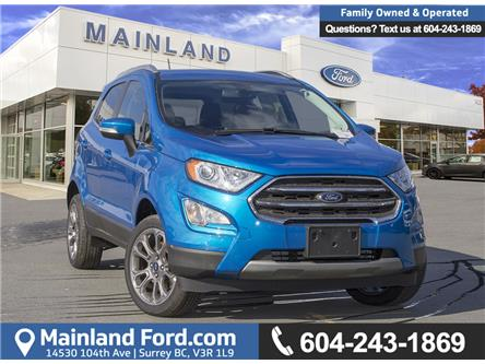 2018 Ford EcoSport Titanium (Stk: 8EC7552) in Vancouver - Image 1 of 23