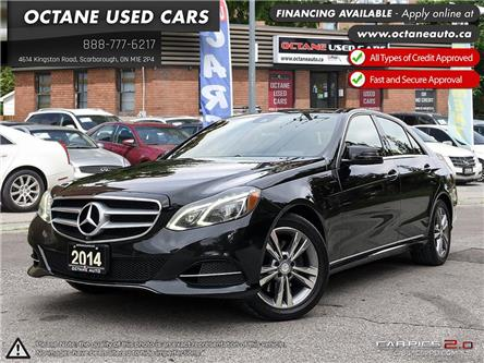 2014 Mercedes-Benz E-Class Base (Stk: ) in Scarborough - Image 1 of 22