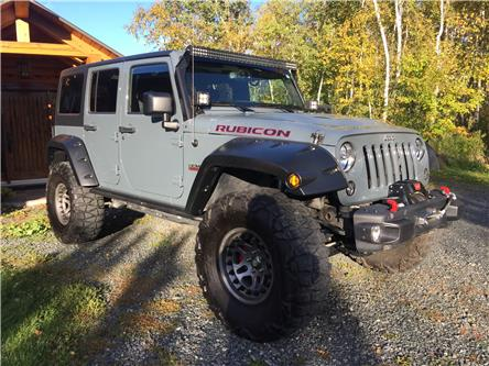 2014 Jeep Wrangler Unlimited Rubicon (Stk: 1797) in Garson - Image 1 of 4