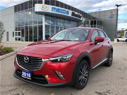 2016 Mazda CX-3 GT (Stk: 16433A) in Oakville - Image 1 of 15