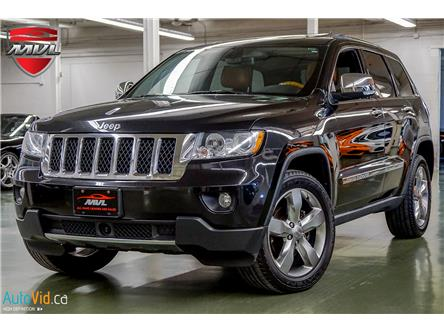 2012 Jeep Grand Cherokee Overland (Stk: ) in Oakville - Image 1 of 40