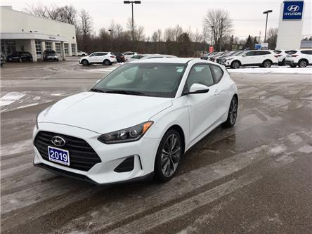2019 Hyundai Veloster 2.0 GL (Stk: 9386) in Smiths Falls - Image 1 of 11