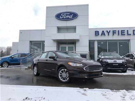 2019 Ford Fusion Hybrid SE (Stk: FS19054) in Barrie - Image 1 of 25