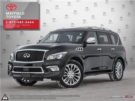 2017 Infiniti QX80 Base 8 Passenger (Stk: 194001) in Edmonton - Image 1 of 27