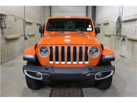 2019 Jeep Wrangler Unlimited Sahara (Stk: KT044) in Rocky Mountain House - Image 2 of 30