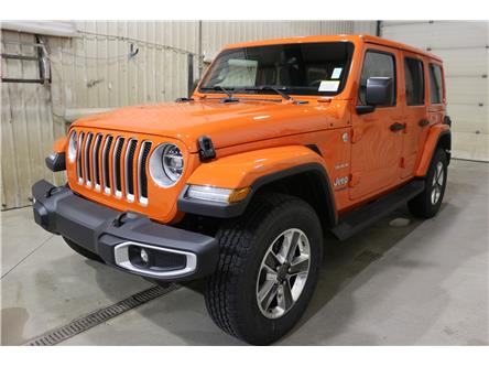 2019 Jeep Wrangler Unlimited Sahara (Stk: KT044) in Rocky Mountain House - Image 1 of 30
